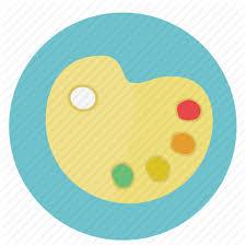 Colors Colours Design Graphic Paint Painting Pallet Round