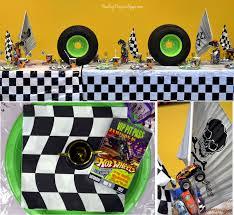 100 Monster Truck Theme Party S Birthday Jam Supplies Australia Envelopes