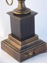 Vintage Stiffel Lamps Value by Brass Lamp Antique Brass Urn Table Lamp W Vintage Stiffel Label