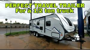 PERFECT SIZE TRAVEL TRAILER For A 1/2ton Pickup! - YouTube