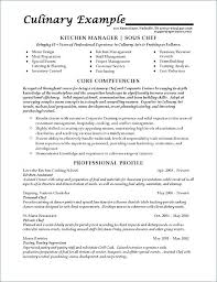 Food Service Resume Sous Chef Example Resumes Examples