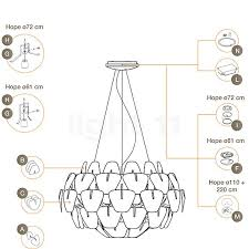 Luceplan Spare parts for Hope Pendant Light light11