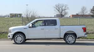 100 Ford Work Trucks 2019 F150 Limited Spied With New Rear Bumper Dual Exhaust