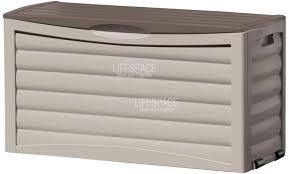 Suncast 195 Gallon Deck Box Manual by Furniture Excellent Cream Outdoor Suncast Deck Box Best Suncast
