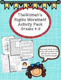 Elementary Social Studies Cilvil Rights And Womens Lesson Plans Include A Readers Theater Board Game Newspaper