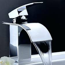 Wall Mounted Led Waterfall Faucet by Cosy Bathroom Sink Waterfall Faucets Single Handle Bathroom Faucet