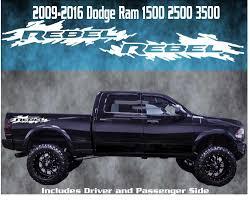 100 Truck Bed Decals Dodge 1500 Ram Power Wagon Vinyl Graphics 3m