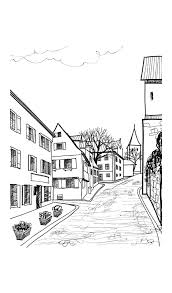 Colorful Cities Fun And Fanciful Buildings Urban Designs Coloring Books For Grownups Book