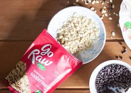 Go Raw Sprouted Pumpkin Seeds Bar by Watermelon Seed And Chocolate Chip Freezer Bars Pine And Crave