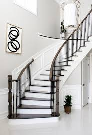 Interior Fantastic Picture Of Curved Cool Staircase Design And ... Cool Stair Railings Simple Image Of White Oak Treads With Banister Colors Railing Stairs And Kitchen Design Model Staircase Wrought Iron Remodel From Handrail The Home Eclectic Modern Spindles Lowes Straight Black Runner Combine Stunning Staircases 61 Styles Ideas And Solutions Diy Network 47 Decoholic Architecture Inspiring Handrails For Beautiful Balusters Design Electoral7com