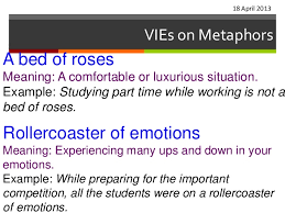Vi es on metaphors