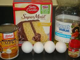 Cake Mix And Pumpkin Muffins by My Sweet Hut Cake Ideas