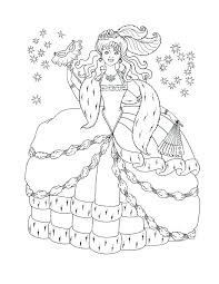Free Printable Disney Frozen Christmas Coloring Pages Princesses Princess Halloween