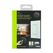 ge z wave smart light on switch smart switch by jasco