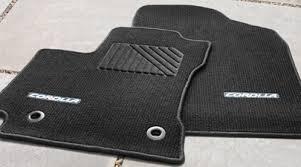 Toyota Avalon Floor Mats Replacement by Genuine Toyota Corolla Black Carpet Floor Mat Set Pt206 02142 21