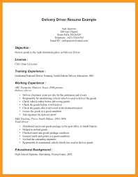 Truck Driver Resume Template Trucking Format For Post Fresh Chauffeur Sample High School No Experience Heavy