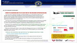 fbi bureau of investigation remove the fbi federal bureau of investigation ransomware virus