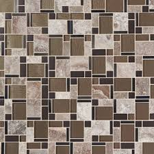 Casa Antica Tile Floor And Decor by Montage Stone Matrix Classic Polished Glass Mosaic 12in X 12in