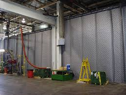 Sound Dampening Curtains Industrial by Noise Control Curtains Model Knc Industrial Reduction These