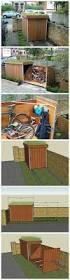 Roughneck Storage Shed Accessories by Best 25 Garden Bike Storage Ideas On Pinterest Diy Yard Storage