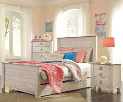Full Size Bed With Trundle by Willowton Full Size Panel Bed With Trundle B267 Ashley Kids