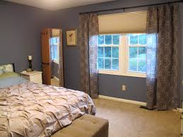 BedroomDamask Decorating Idea For Bedroom With Damask Curtains And Mirrored Cupboard Bring Back Renaissance