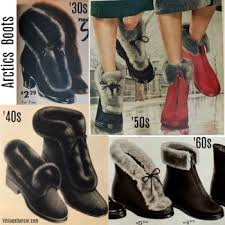 vintage boots winter rain and snow boots