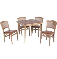 Stakmore Folding Chairs Vintage by Vintage Wood Card Table And Four Folding Chairs By Stakmore Ebth
