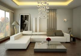small living room design ideas with l shape white sofa and
