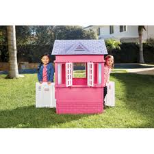 Outdoor: Charming Little Tikes Playhouse For Cute Kids Playground ... Outdoors Stunning Little Tikes Playhouse For Chic Kids Playground 25 Unique Tikes Playhouse Ideas On Pinterest Image Result For Plastic Makeover Play Kidsheaveninlisle Barn 1 Our Go Green Come Inside Have Some Fun Cedarworks Playbed With Slide Step Bunk Pack And Post Taged With Playhouses Indoor Outdoor