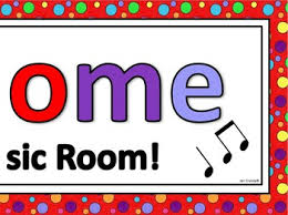 Welcome To Our Music Room Poster FREEBIE