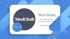 15% Off - ModCloth Student Discount/Coupons! Modcloth Bogo All Sale Itemslast Day Milled Design Clinique 20 Off Coupon How To Get Cabin Aj Perri Plumbing Jetblue Discount Promo Codes 15 Off Modcloth Student Discntcoupons Gld Carpet Cleaning Iowa City Coupons Poshmark Share Code Shipping Coupon Best Value Copy Screenflow American Golf Store Active Deals Fmoxfishflex Yoga Tree Sf Promotion Incfile Boston Hotel Hilton Sthub Online Explatorium Ticket The Chivery Great Clips Calgary