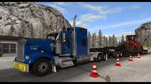 100 Carlile Trucks American Truck Simulator Yard Fairbanks To Fox Weigh Station