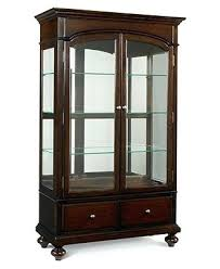 Macys China Cabinet Curio Accent Furniture Metropolitan