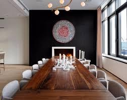 Black Accent Wall 10 Walls Dining Rooms Mur Noir4