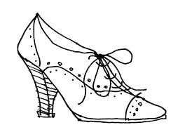Drawn Shoe Vintage 10