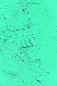 Download Painting Close Up Of Vivid Turquoise Light Green Color Stock Image