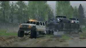 Spintires Mods - Diesel Brothers Super Six Towing Mud Trucks ...