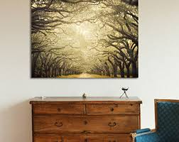 Forest Canvas Print Large Art Wall Decor Rustic