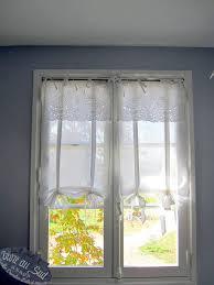 rideau fenetre chambre pour les fenêtres de la façade couture rideau