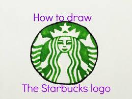 How To Draw The Starbucks Logo Timelapse