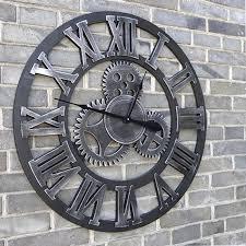 Horloge Mural 3d Achat Vente Pas Cher Grande Horloge Murale Vintage Achat Vente Pas Cher