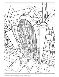 Ron With Invisible Cape Coloring Page