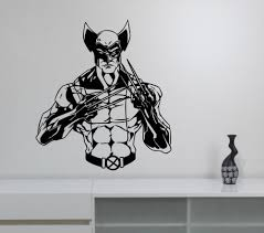 Superhero Wall Decor Stickers by Online Get Cheap Wolverine Wall Decal Aliexpress Com Alibaba Group