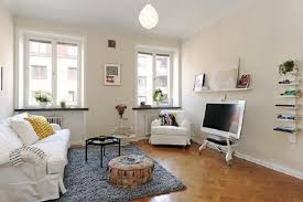 Modern Gray Wall Paint Color Idea Apartment Decorating Ideas On A Budget Glass Maple Coffee Table Classy Rug Carpet Design Black Leather Comfy Sofa