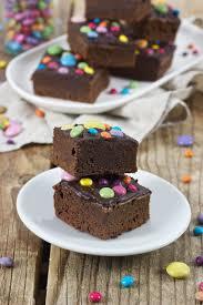 brownies mit smarties