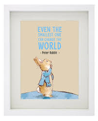 Peter Rabbit Bedding by Peter Rabbit Famous Quote Framed Print By Beatrix Potter Even