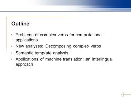 Light Verb by A Semantic Template For Light Verb Constructions Karine