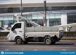 100 Isuzu Mini Truck Private Tata SuperACE City Giant Editorial Stock Photo