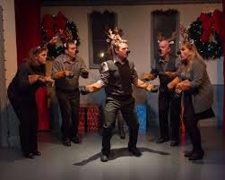 Wreck' The Halls' On Stage At Ridgefield Theater Barn - SFGate Pillow Talkings Review Of Educating Rita Talking 2017 Michael Chekhov Theatre Festival In Ridgefield Revel In The Merry Beauty Of This Towns Holiday Gathering Huffpost Barn Burns Down Just Weeks After Housing 800 Cows On Stage Opening This Weekend And Upcoming Arts Leisure Etc Off Book Westport Community Last Flapper Reading At The Theater Barn Improv Comedy Night Connecticut Post News Whose Is It Anyway Returns To Friday October 13th